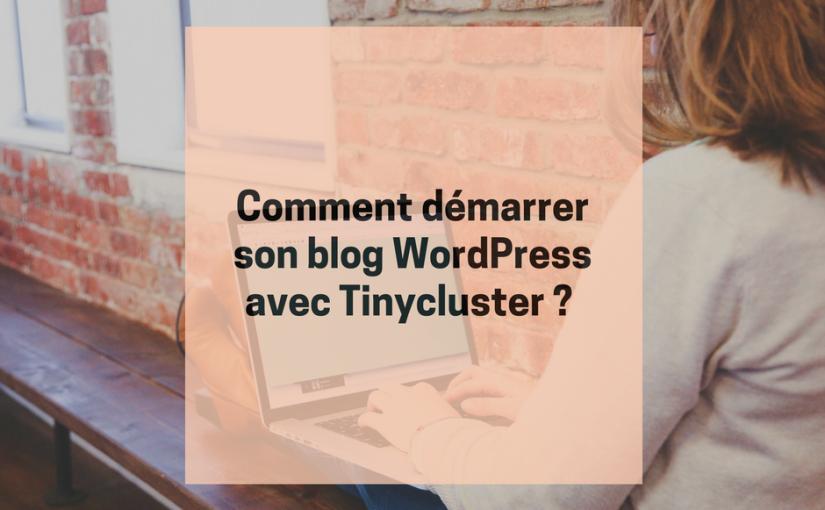 Comment démarrer son blog WordPress avec Tinycluster ? (2017)